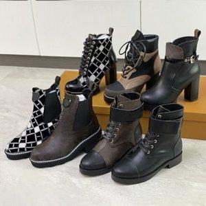 Последние женщины снежные ботинки Мартин пустынные ботинки фламинго любовь стрелка медаль 100% натуральный кожаный грубый размер US5-11 зимняя обувь