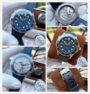 2021 high quality sea business luxury boss brand watches aqua 007 terra men wristwatches james bond master mens watch D1040