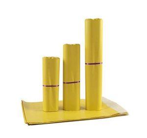 Mail 1725Cm Yellow Courier Bag Selfseal Mailbag Plastic Poly Mailing Envelope Waterproof Postal Bags Express Envelopes G5Djr Ba7Ye