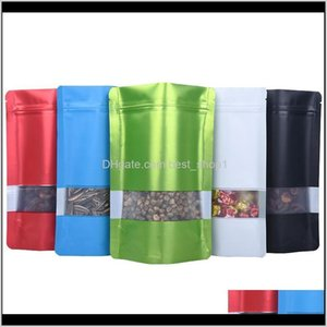 Bulk Kitchen Housekeeping Organization Home Garden Drop Delivery 2021 Storage Plastic Bag Food Packaging Container Smell Proof Bags Aluminum