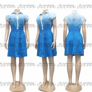 Blue Affordable Bath Robe Hipster Top Quality Women's Luxury Sleepwear Home Bathroom Oudoor Short Sleeve Designer Shirt Dress