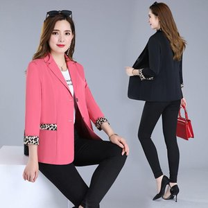 Autumn Women Blazer Suit Female Workwear Notched Casual Coat Ladies Office Long Sleeve Solid Fashion Jackets Q58 Women's Suits & Blazers