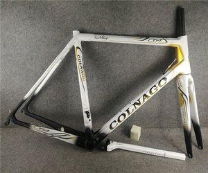 T1000 UD Matte Brillant Blanc noir Or Colnago C64 Cadre de vélo de route Vélo Carbon Cadres de charbon 48/50 / 52/54 / 56cm