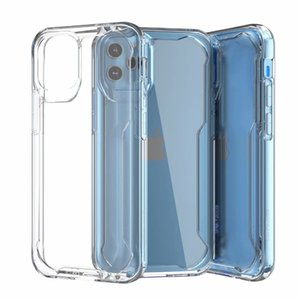 2021 phone 12 mobile phone case TPU+PC clear phone Transparent Case for 11 Pro X XS Max XR Light Weight Shockproof