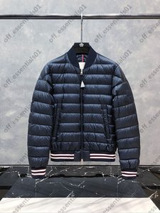 Thin mens down jacket France Brand Side arm Big Logo jackets Autumn And Winter High Quality coat
