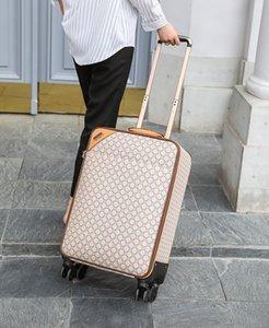 Designer Women Men Suitcases Unisex Spinner Expandable Trolley Brand Fashion Luxury Designer Carry-Ons Barding Bag Rolling Luggage Sets