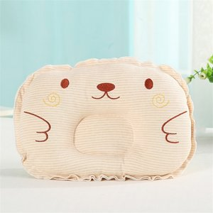 Newest Newborn Toddler Infant Baby Anti Roll Sleep Pillow Babies Positioner Prevent Flat Head Cushion Lovely Cute Pillows 1011 X2