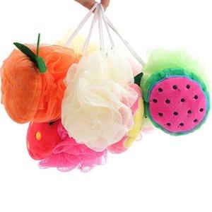 Nuova fruits Bath Sponge Cute Bath Brushes Brushes Scrubber Casa Forniture da bagno per bambini Bambini all'ingrosso OOD5901