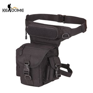 Tactical Military Leg Bag Waist Chest Army Backpack Sling Single Shoulder Men EDC Bags Outdoor Tactical Hiking Camping XA19D Y200920