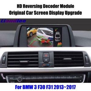 Per 3 F30 F31 2013 2014 2021 DECODER HD Player PARCHEGGIO INVERTO PARCHEGGIO IMMAGINE Auto schermo Aggiornamento visualizzazione Aggiorna Vista posteriore Telecamere Sensori