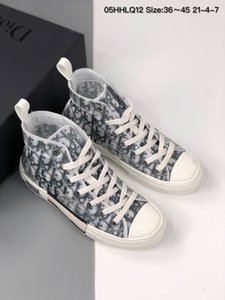 Footwear B23 Oblìquè High Top Sneakers D Men Luxury Designer sports Casual Shoes athletic with box