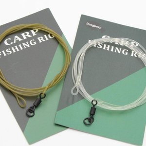 100cm Carp Fishing Accessories Kit Ring Swivel For for Chod Rig Tackle Equipment