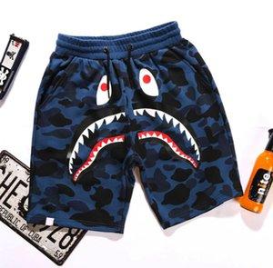 2019Summer Mens wommen lovers Sportswear Pants Jogger Tracksuit causel Crewneck Bird OVO Drake Black Hip Hop Men Shark mouth trousers