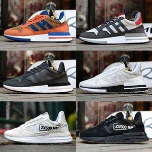 Zx500 Rm Mastermind Son Goku Core Black White Shoes Runner Primeknit Women &#039 ;S Men &#039 ;S Lover &#039 ;S Sports Sneaker