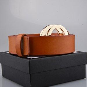 Courroies de design de luxe Mens Femme Snake avec lettre Casual Smootheedle Boucle de boucle Largeur 3.8cm Très qualité