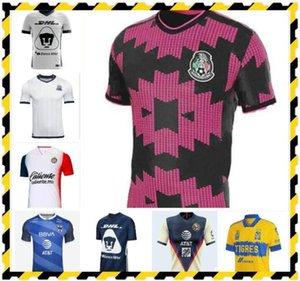 2021 Liga MX Club America Футбол трикотаж 20 21 Унам Гуадалахара Чивас Кугар Мексика Tijuana Atlas Cruz Azul Laguna Футбольная рубашка
