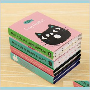 Office Business Industrial In Stock Creative Sticker Mini Animal Sticky Notes 4 Folding Memo Pad Gifts School Stationery Supplies Note