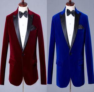 Chorus Mariage Groom Wedding Suits For Men Blazer Boys Prom Fashion Slim Masculino Latest Coat Pant Designs Commercial Men's & Blazers