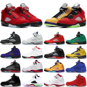 2021 jumpman 5 5s What The men basketball shoes Alternate Bel Fire Red athletic mens trainers sports sneakers size 7-13