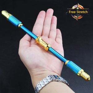 Monkey King Ruyi Telescopic Golden Hoop Bar Children's Toy Stainless Game Prop Model