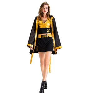 Boxing girl female wrestling Hercules champion Superman fighter boxing sports fitness clothes