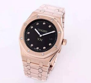 K8 Factory good Quality Men Wristwatches 41mm 15206IP.OO.1240IP.01 Stainless gold Steel automatic Movement Mens watch Watches