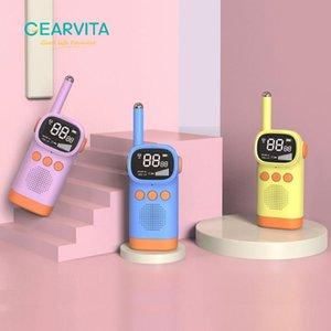 Walkie Talkie Children's 2PCS Handheld Transceiver 3KM Range Child Gift Educational Toys Radio Lanyard Interphone