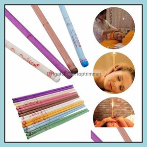 Supply Care Health Beautysandalwood Traditonal Indian Fragrance Ear Candle Mas Detox Beauty Help To Soft & Wet Skin Tcm Therapy 8 Colors Dro