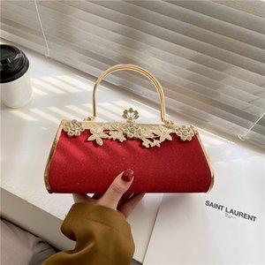 HBP Chinese style 2021 portable diamond dinner bag European and American fashion dress party cheongsam shoulder party handbag wholesale