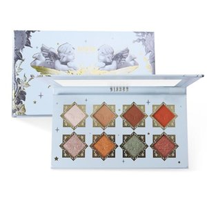 Arrival 8 Colors Charm Angel Pressed Eyeshadow Colorful Lasting Long Glitter And Pigmented Neon Pal V1M3 Eye Shadow