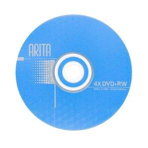 Wholesale 5 Blank Disks Blue Printed 4.7 GB 4X DVD+RW Discs