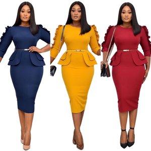 Winter Winter Dresses Dress & Skirts Women Pencil Skirt Africa Women's Clothing Autumn Fall Plus Size