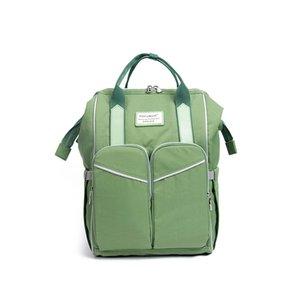 Мода Корейский Edition Рюкзак Мумия Дезинфицирующее средство Нагретый POP Многофункциональный Ручной Черный и Зеленый