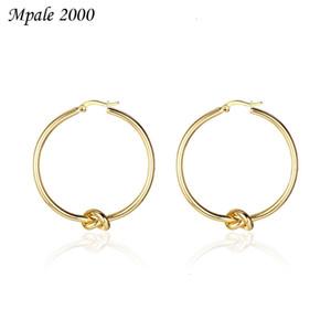 2021 new Celin Korean women's Knot Earrings high end temperament jewelry