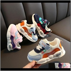 Baby, & Maternity Drop Delivery 2021 Children Sports Shoes For Boys Girls Baby Toddler Kids Flats Sneakers Fashion Casual Infant Soft Shoe 20