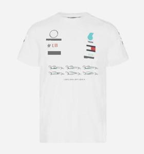 F1 Racing T-shirt Formula One Team de voiture personnalisable Logo Sleeve courte
