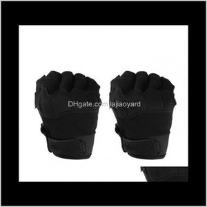 Protective Gear Sports & Outdoors Drop Delivery 2021 Pair Tactical Gloves Sport Half Finger Type Military Men Combat Shooting Hunting Cycling