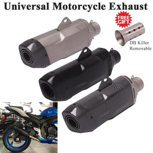 Universal Motorcycle 51mm Exhaust Pipe Escape Modify Muffler DB Killer For GSXR600 Ninja 400 MT-03 CB600R PCX 125 Dirt Bike ER6N System