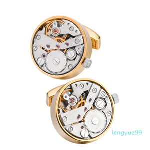 Movement Watch Cufflinks Can Be Rotated Mechanical Sense French Shirt Cufflinks Sleeves Moveme jllYPd