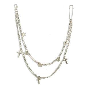 Belt female cool ins chain butterfly adornment punk waist hip hop jewelry accessories jk uniform