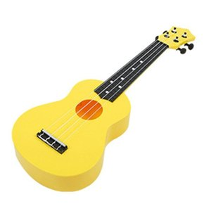 21 Inch Colorful Acoustic Ukulele 4 Strings Small Guitar Children Instrument W8EE