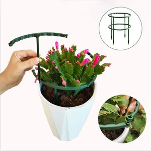 Other Garden Supplies 2pc Plastic Plant Support Pile Stand For Flowers Semicircle Greenhouses Tool