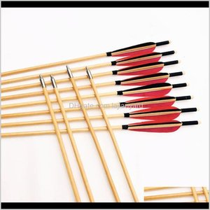 80Cm 8Mm Traditional And Recurve Special Target Outdoor Shooting Entertainment Wooden Cwtgh 8Mic6