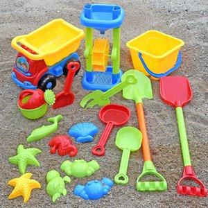 Baby Beach Toys Kids Beach Game Play Water Toys Sandbox Set Kit Summer Toys For Beach Play Sand Water Play Cart