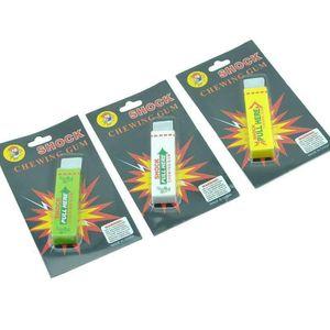 New Electric Shock Joke Chewing Gum Pull Head Shocking Toy Gift Gadget Prank Trick Gag Funny