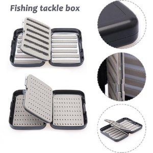 Thickened Waterproof Hook Box Fishing Case With Slit Foam Lure Bait Tackle Boxes In Stock Accessories