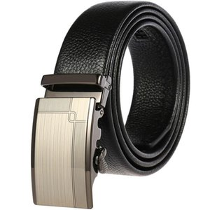 Automatic buckle man waist lead layer cowhide leather belt casual joker male accessories designer belts Sell like hot cakes