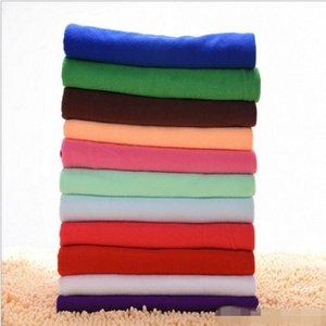25 * 25 cm Nova cor toalha de microfibra estéril toalhas, microfibra limpeza toalha de carro lavando nano pano prato de lavar banho toalhas limpas