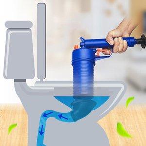 1 ADET Tuvalet Piston Yüksek Basınçlı Drenaj Blaster GunManial Lavabo Açacağı Temizleyici Banyo Tuvaletleri için Pompa Banyo Diğer Malzemeleri