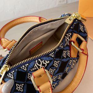 Подушка сумка сумки сумки сумки кошельки мода джинсовые съемные плечевые ремень лоскутный цвет цвет молнии холст сумка